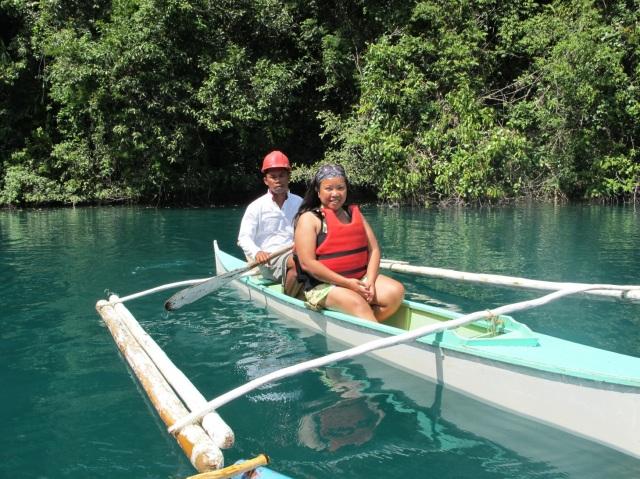 Taken at the Stingless Jelly Fish Sanctuary in Bucas Grande Island, Sohoton , Surigao del Norte.