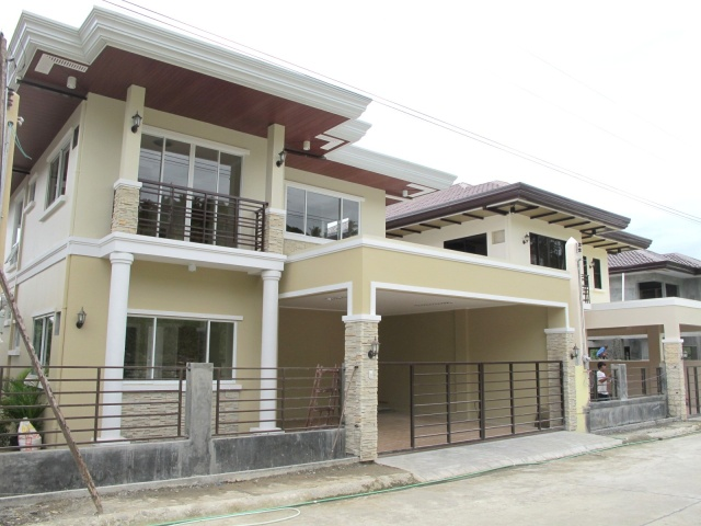 Dickens model house of monteritz for sale davao real for Classic homes real estate