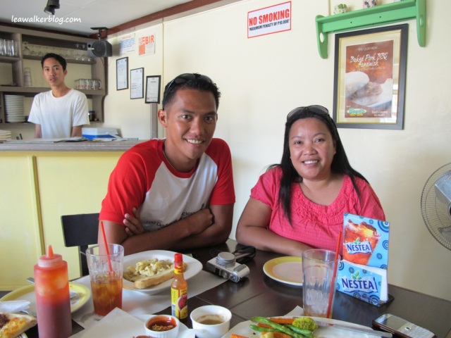 Lunch with James Betia of www.journeyingjames.com :)