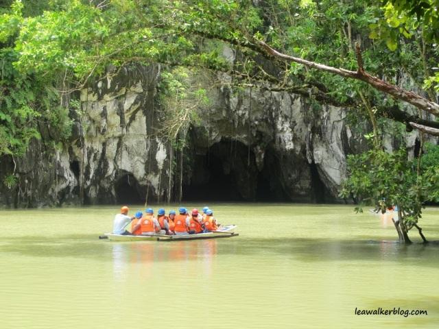 Underground River in Palawan.