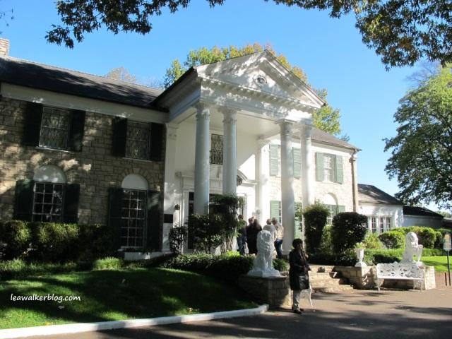 Graceland, the mansion of Elvis Presley.