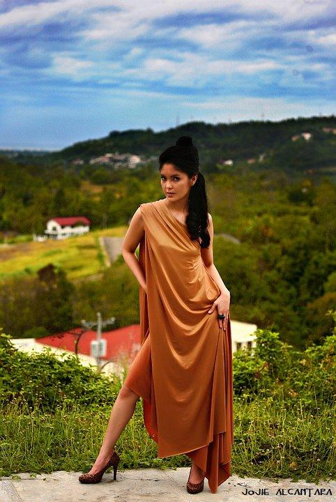 Model :  Ms. Ruby Bernardo Photographer: Ms. Jojie Alcantara