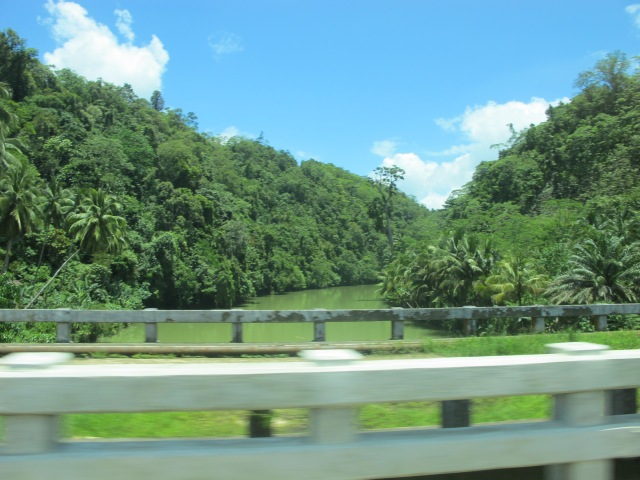 Prosperidad River. This has always been my favorite. I like the view. :)