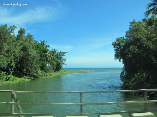 Somewhere in between Butuan and Gingoog City.