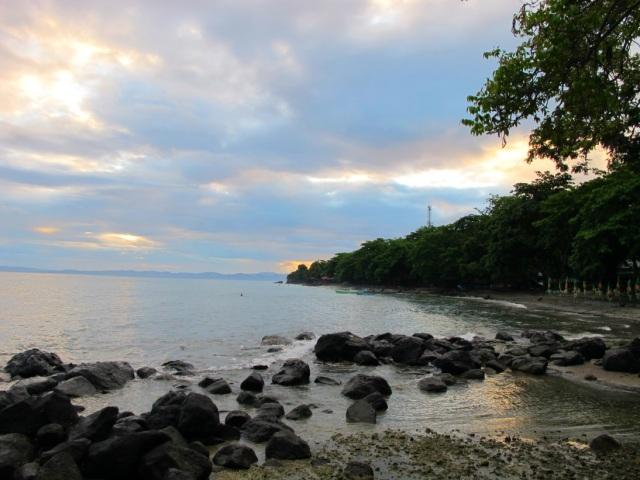 Sunrise at Duka Bay Resort.