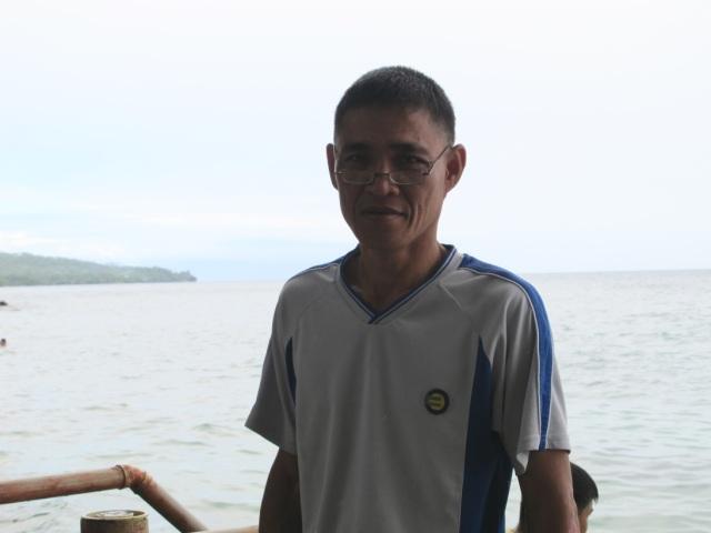 Duka Bay Resort's Marine Biologist.