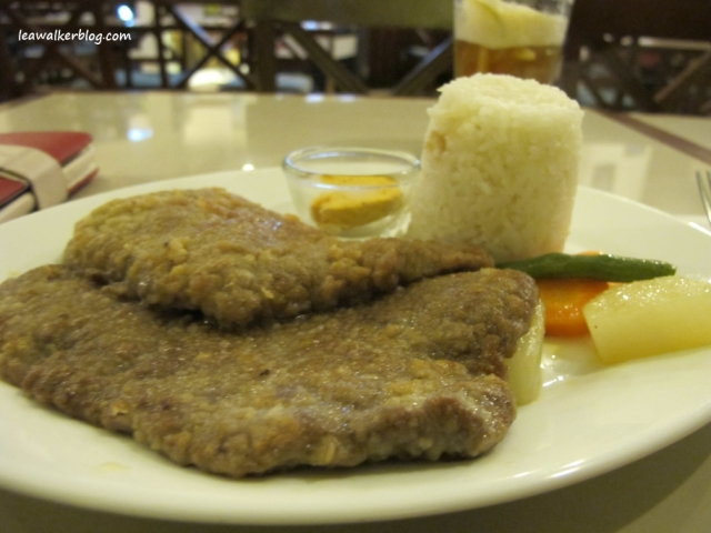 Beef Cutlet with Garlic Butter.
