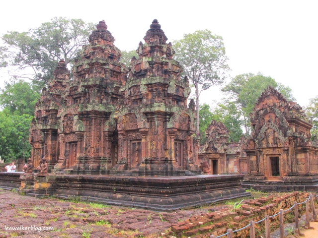 Another  beautiful temple. Taken at Banteay Srei, Angkor Archaeological Park, Siem Reap, Cambodia.