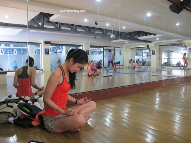 Short meditation before Beng started. I call it, self-preparation. hehe