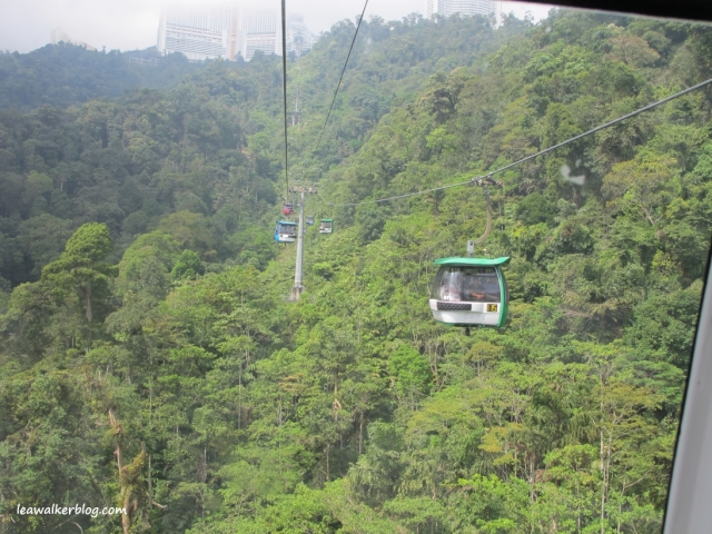 The cable car.