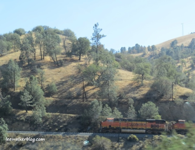 trains in california