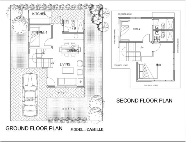 floor plan camille