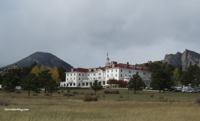 The Stanley Hotel. It is believed to be haunted.