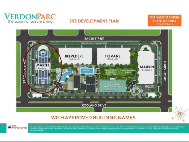 Verdon Parc, condo for sale, davao city, Aerial View2 (2)
