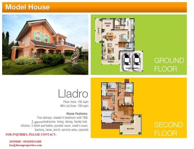 leadro model house, house for sale davao, davao city house for sale, installment house for sale davao, high end house for sale davao, camella homes davao