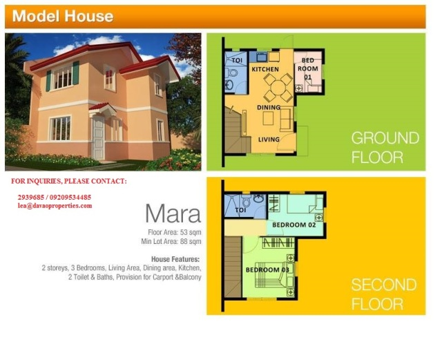 house for sale davao, davao city house for sale, camella homes buhangin,