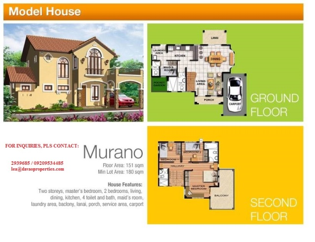 murano model house, davao house for sale, house and lot for sale, davao city, philippines, camella homes buhangin