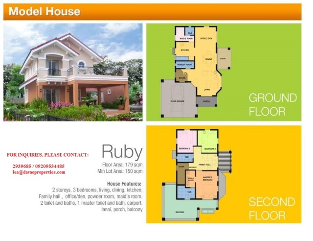 Ruby model house, camella davao, camella homes buhangin, house for sale davao, installment house and lot davao city