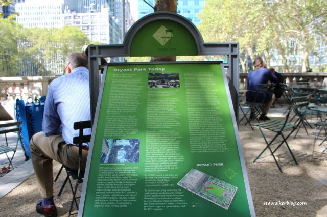 new york city, bryant park
