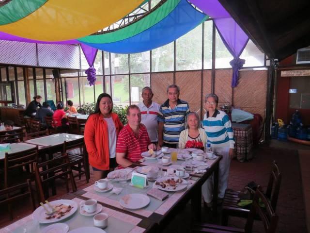 L-R: Me , John, Manong Osting, Papa, Mama and Nanay Ligaya.