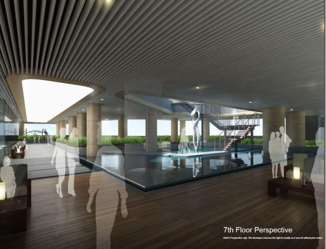 7th floor amenity perspective