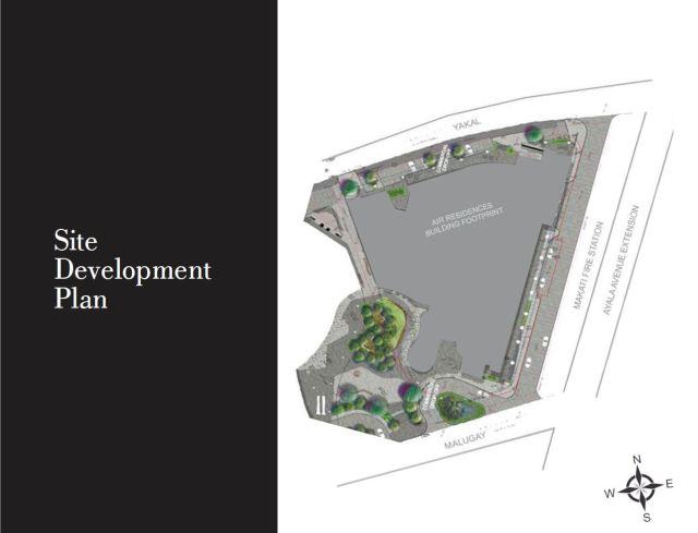 air residences site dev plan