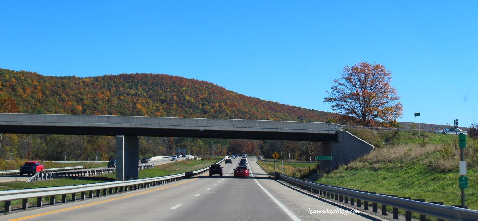 Traveling the hershey highway 8