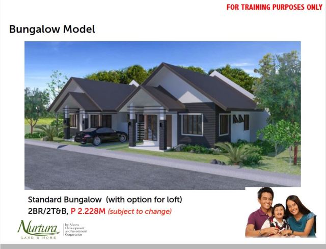 Bungalow Model House