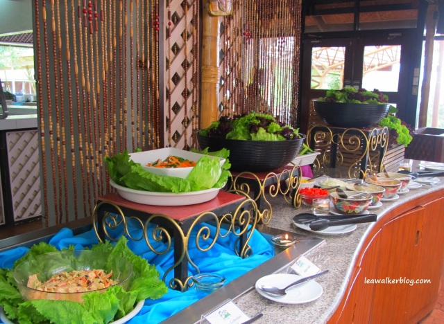 Fresh Salad. A must while at Eden Nature Park's Restaurant.